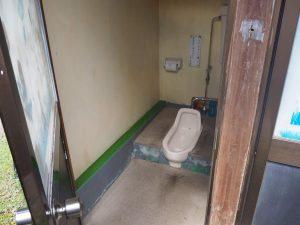 欅平トイレ