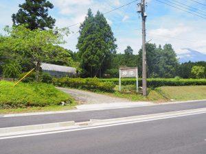 欅平キャンプ場入り口
