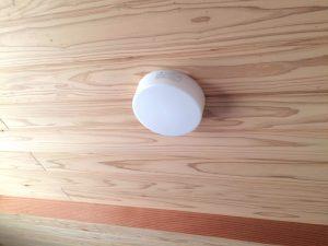 勾配天井の照明