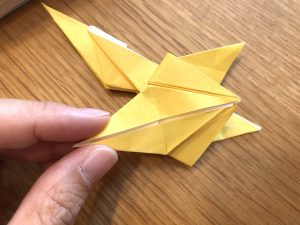 キリンの折り紙工程2