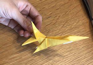 キリンの折り紙工程3