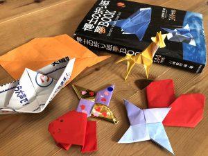 折り紙遊びは楽しい