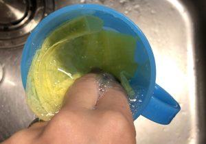 コップの洗浄