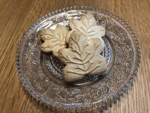 メープルクッキー 皿盛り