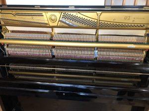 ピアノの到着