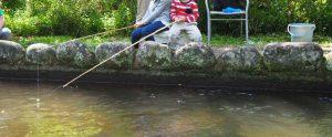 池堀の釣り