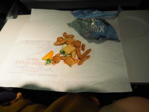 ユナイテド航空 スナック菓子