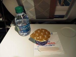 ユナイテッド航空 機内食 デザート