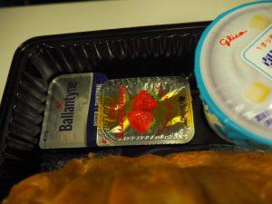 ユナイテッド航空 機内食 軽食