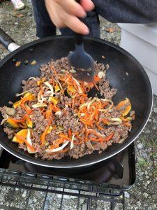 干し野菜カレー