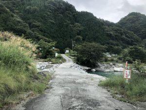 中川ロッヂの入り口2