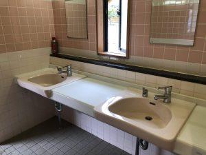 水洗トイレ1洗い場