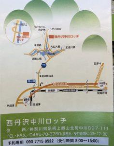 中川ロッヂ地図